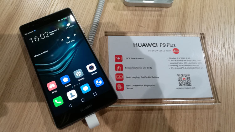Características del Huawei P9 Plus