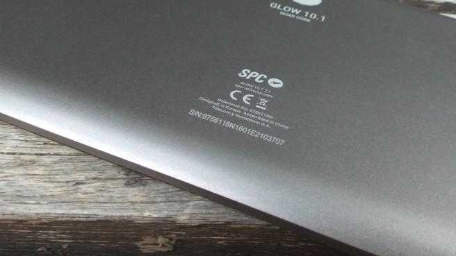tablet SPC 64 bits logo trasera
