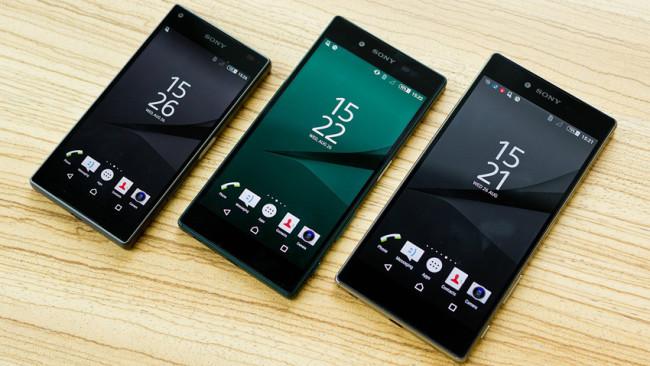 Línea de smartphones Sony Xperia Z5