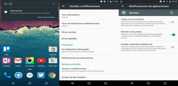 android 6.0 notificaciones