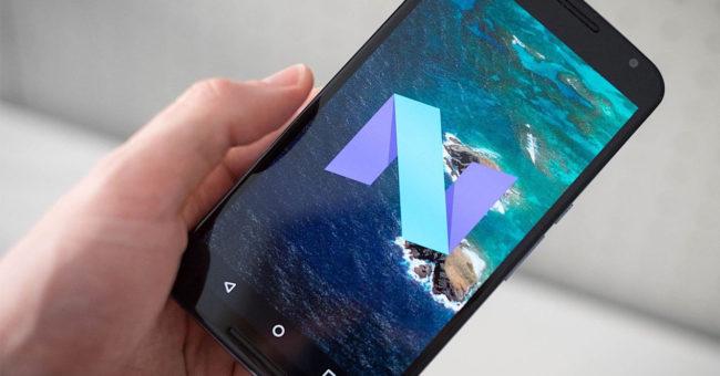Quinta Beta de Android 7.0 Nougat