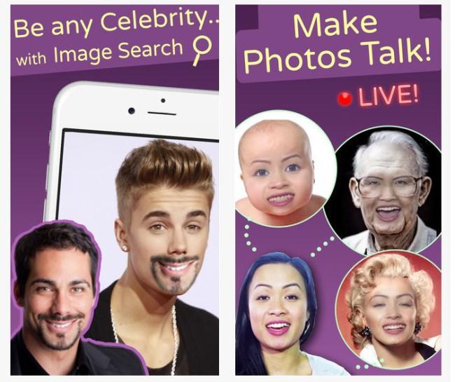 Podemos cambiar la cara incluso en videos