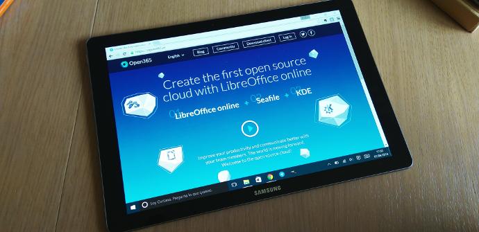Galaxy TabPro S libre office