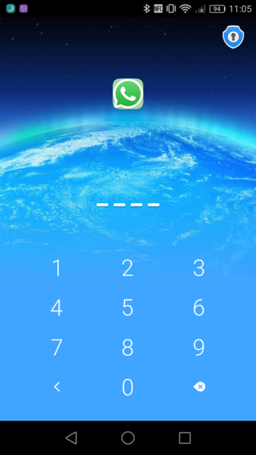 Go Security - Código desbloqueo app