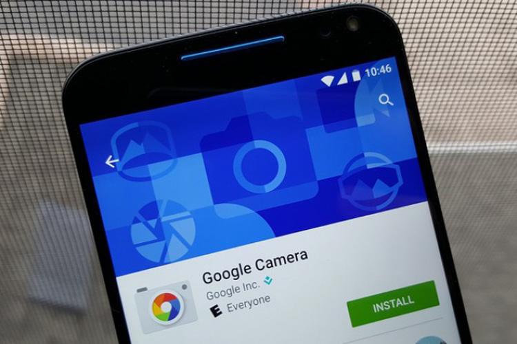 Actualización de Google Camera