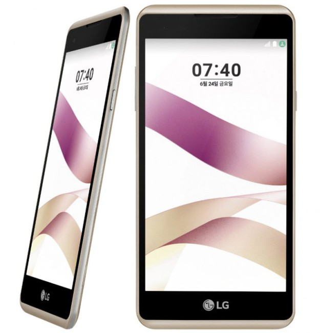 LG X Skin dorado