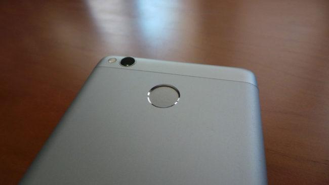 Lector de huellas del Xiaomi 3S