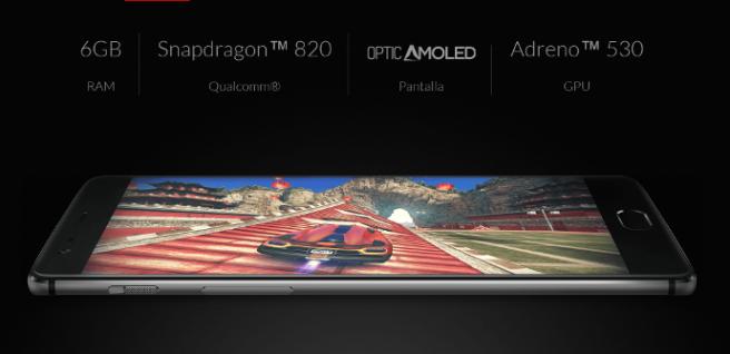 OnePlus 3 caracteristicas tecnicas principales