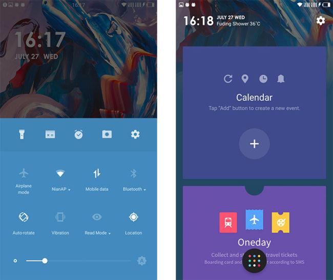 Interfaz del Port con OxygenOS para el Xiaomi Mi5