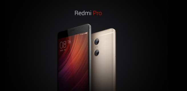 Xiaomi Redmi Pro caracteristicas oficiales