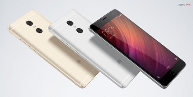 Xiaomi Redmi Pro colores