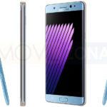 Samsung Galaxy Note 7 fotos oficiales en azul