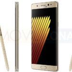 ficha técnica del Samsung Galaxy Note 7 fotos oficiales en dorado