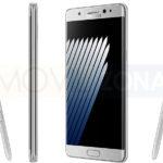 ficha técnica del Samsung Galaxy Note 7 fotos oficiales en plateado