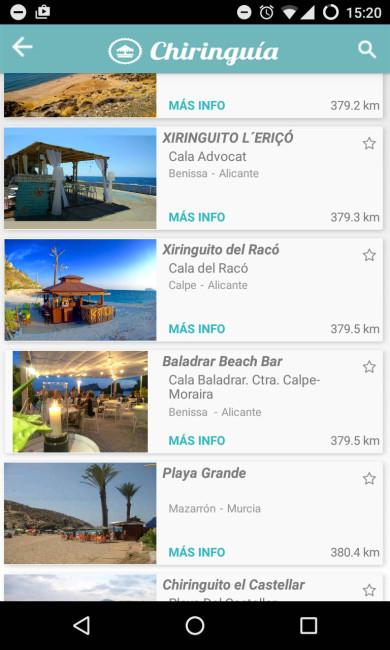 el mejor chiringuito de playa chiringuia