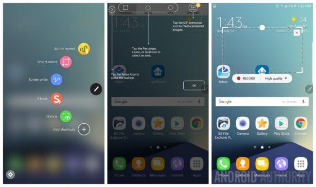 Samsung galaxy note 7 funciones