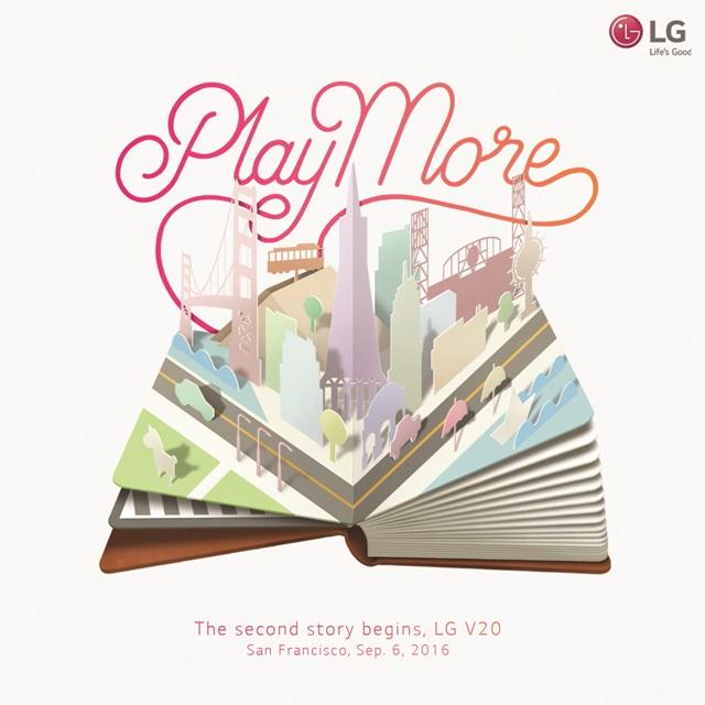 Presentación del LG V20