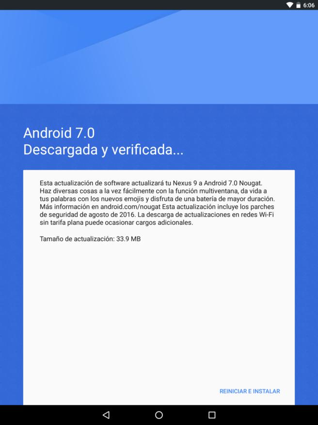 Android Nougat instalacion