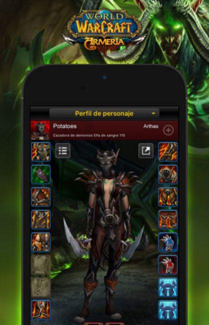 World Of Warcraft Legion armeria