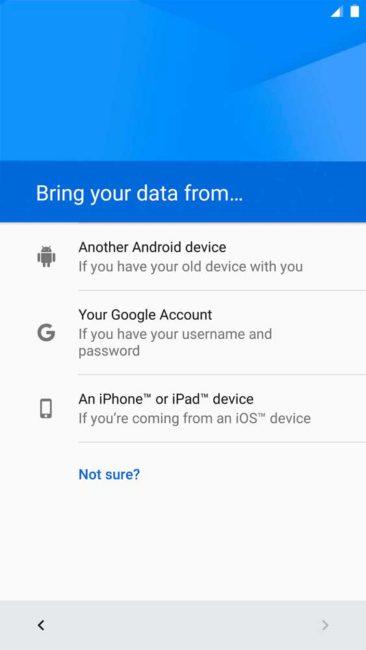 Android 7.0 Nougat importacion desde ios