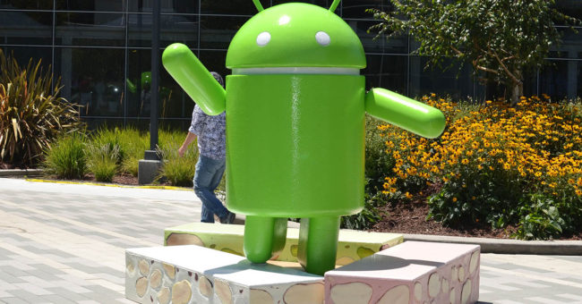 Android 7.0 nougat en Google