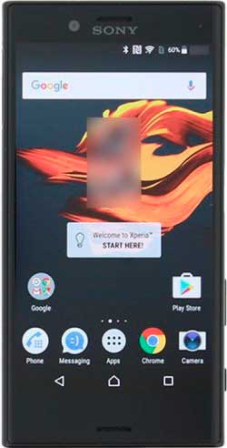 xperia xr frontal