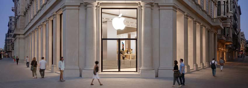 Tienda física de Apple