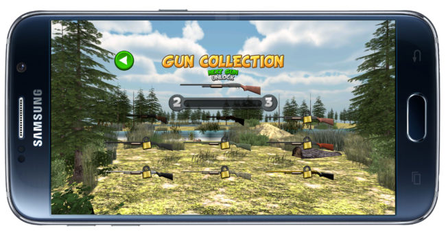 Colección rifles Duck Hunting Unlimited