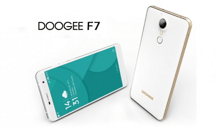 doogee f7 frontal y trasera