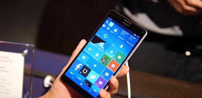 Lumia 950 XL interfaz