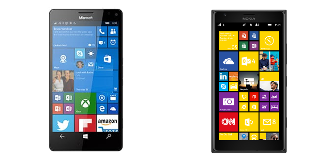 Microsoft Lumia 950 XL Nokia Lumia 1520