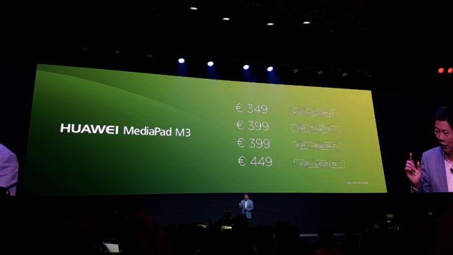 MediaPad M3 precios modelos