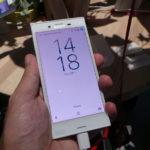 Pantalla del Sony Xperia X Compact