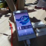 Frontal del Sony Xperia X Compact