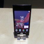 Frontal del Sony Xperia XZ