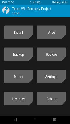 Recovery TWRP para el Samsung Galaxy S7