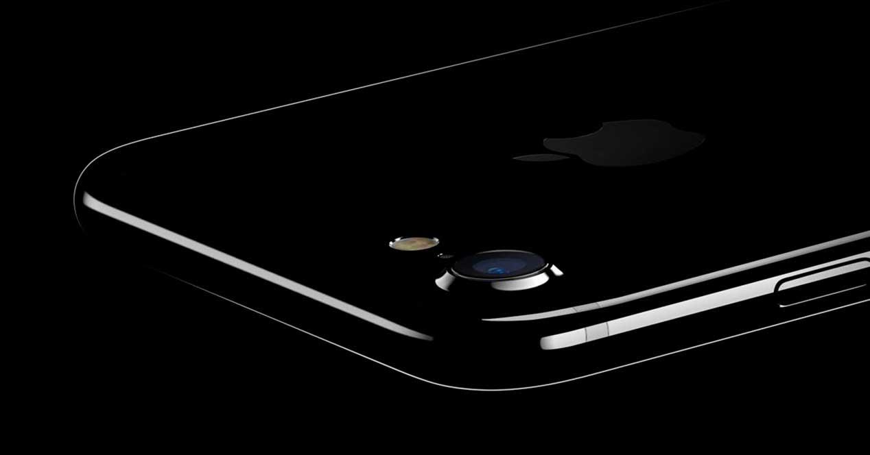 iPhone 7 color Jet Black