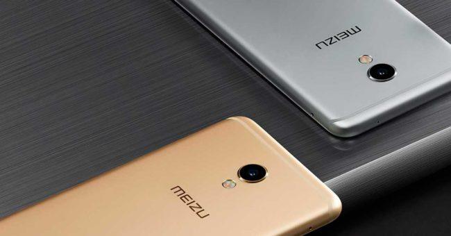 meizu-MX6 color dorado y gris
