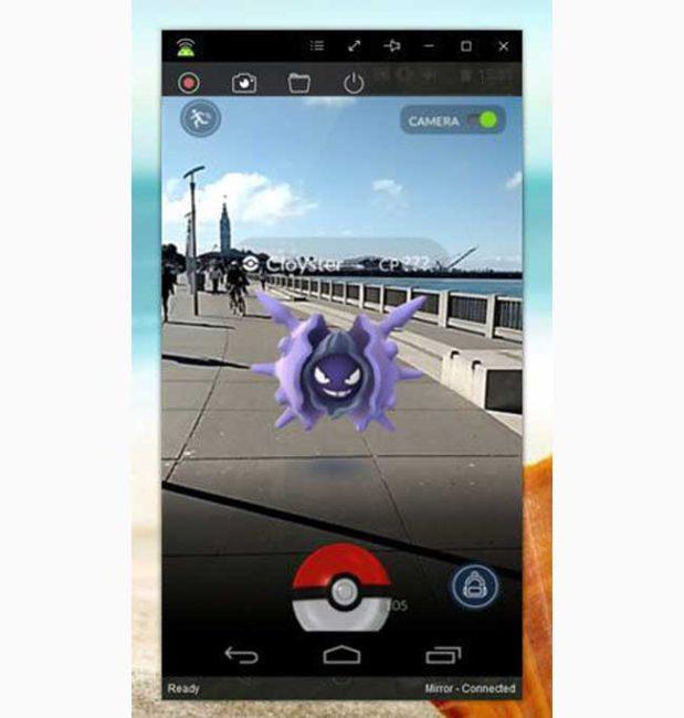 grabar vídeos en Pokémon GO