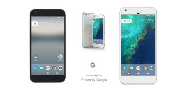 Google Pixel y Pixel XL presentación