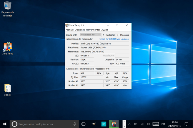 tablet windows 10 se calienta