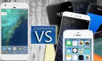 Comparativa del Google Pixel frente al iPhone 7, Samsung Galaxy S7 y muchos más