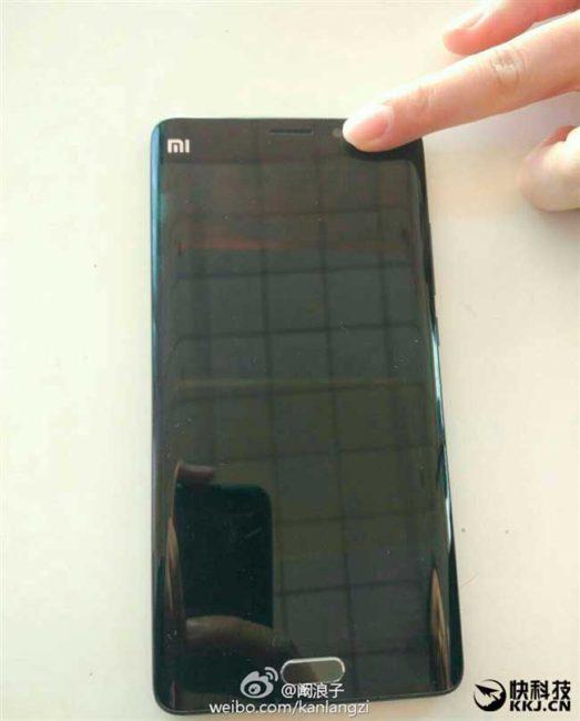 Xiaomi Mi Note 2 color negro