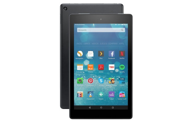 tablet fire de 8 pulgadas