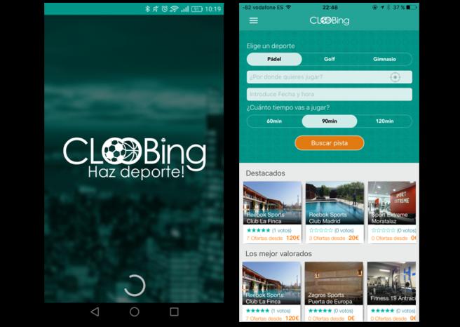 cloobing aplicacion android iOS