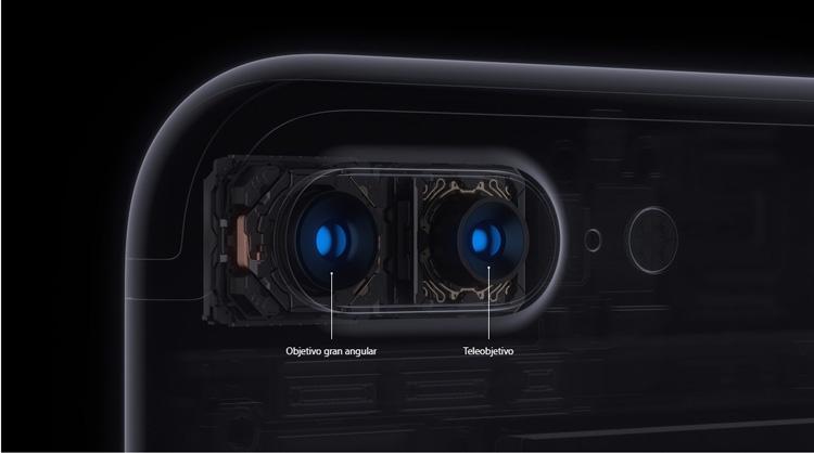 Doble cámara del iPhone 7 Plus