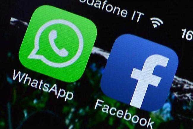 whatsapp y facebook iconos