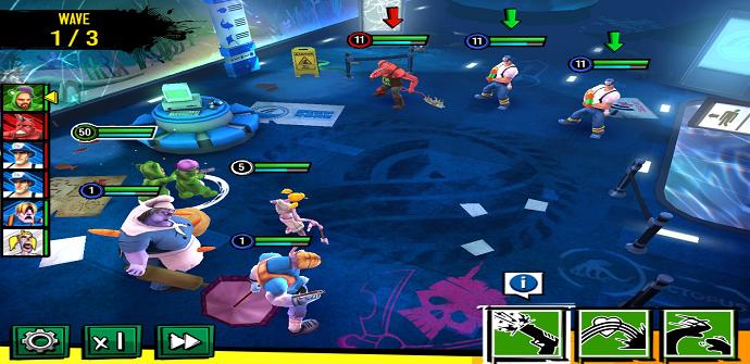 zombie squad interfaz