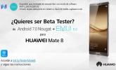 Ya puedes solicitar la Beta de Android 7.0 Nougat para el Huawei Mate 8
