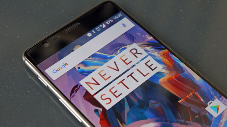 Latencia de la pantalla del OnePlus 3